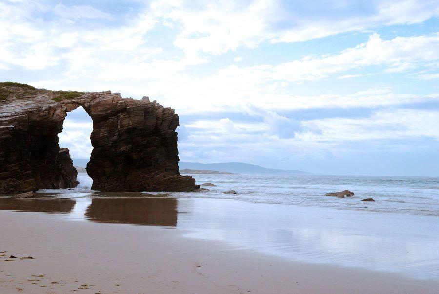 playa catedrales, viaje espana, ruta caravanas, autocaravana