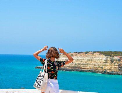 mujeres viajeras, viajar sola, Algarve, portugal