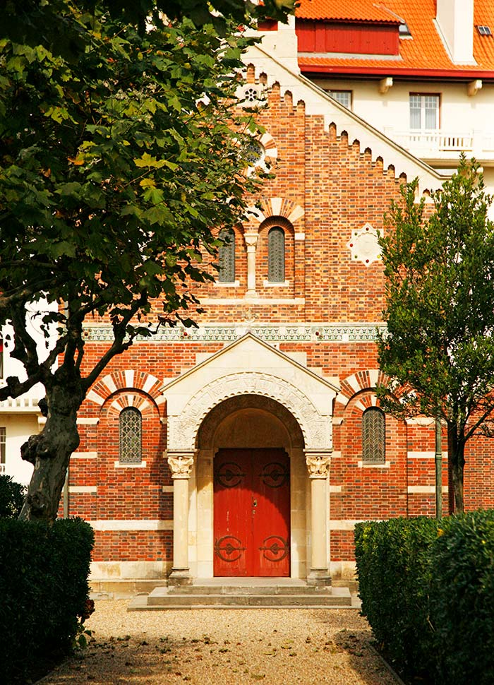 capilla biarritz, pais vasco frances