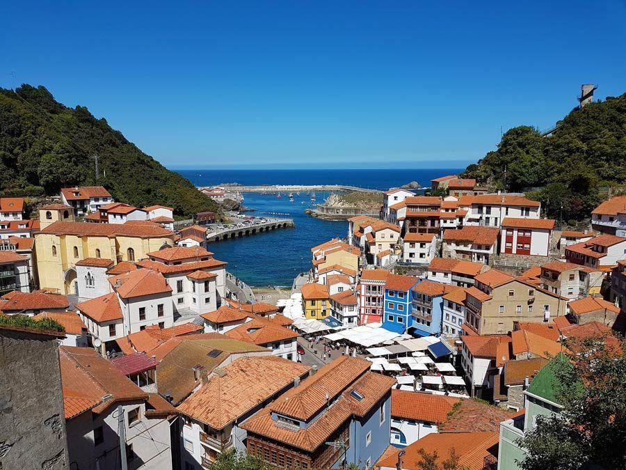 cudillero, Asturias, viaje espana, autocaravana, caravana