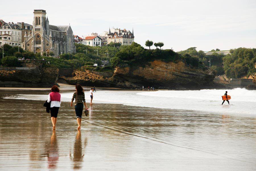 playas, biarritz