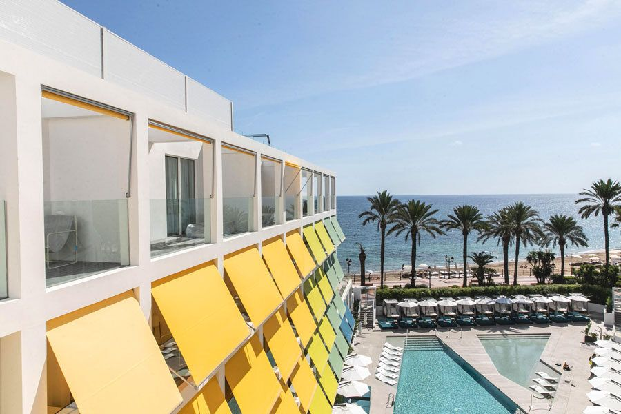 Hoteles en Ibiza, hoteles de lujo, viajes con amigas