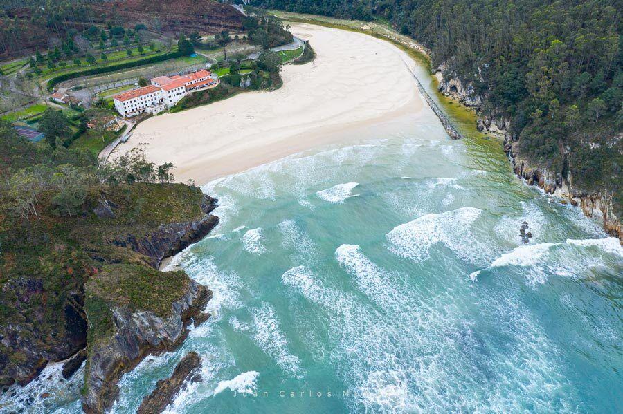 playa La Franca, Ribadedeva, playas asturias