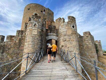 castillo la adrada, valle del tietar, avila, viajar por espana