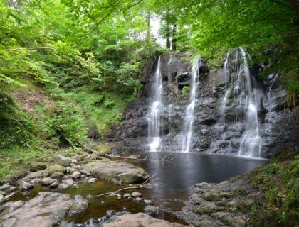 parque glenariff en irlanda norte
