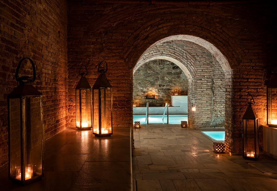 Aire Ancient Baths spas en barcelona con amigas