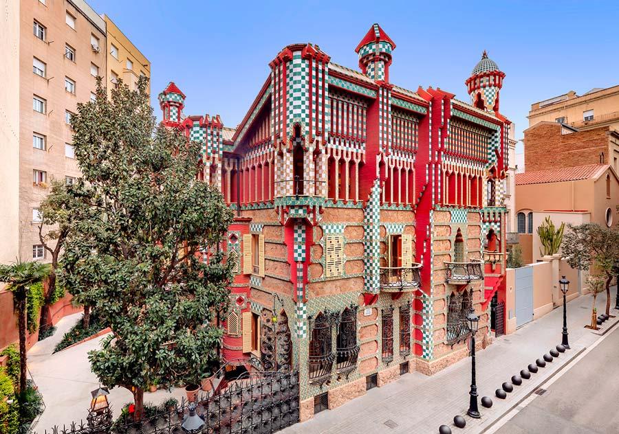 Casa Vicens en la ruta gaudi