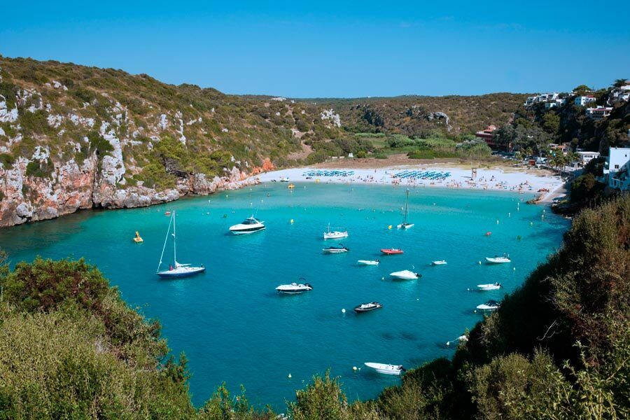 Cala en Porter, playas, menorca, calas, viajes