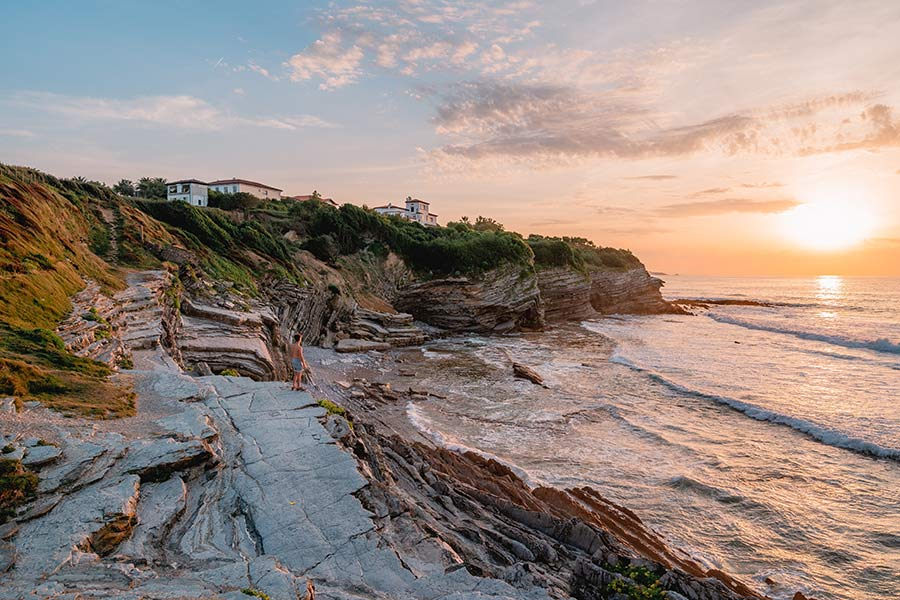 playa san juan de luz