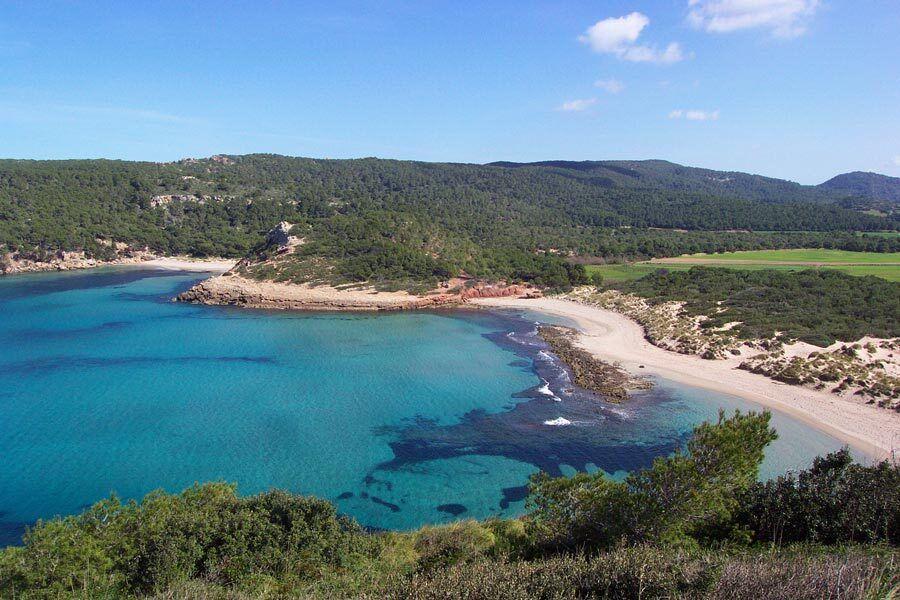 Playa Algaiarens, playa, Menorca