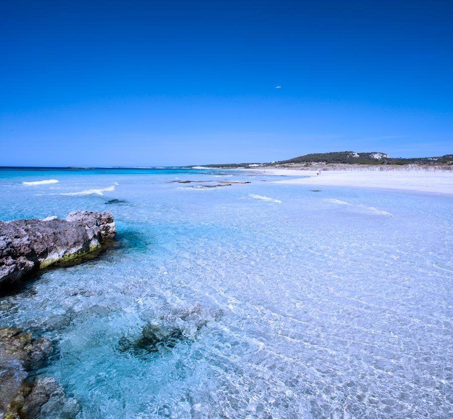 Binigaus, playas, menorca, calas, viajes