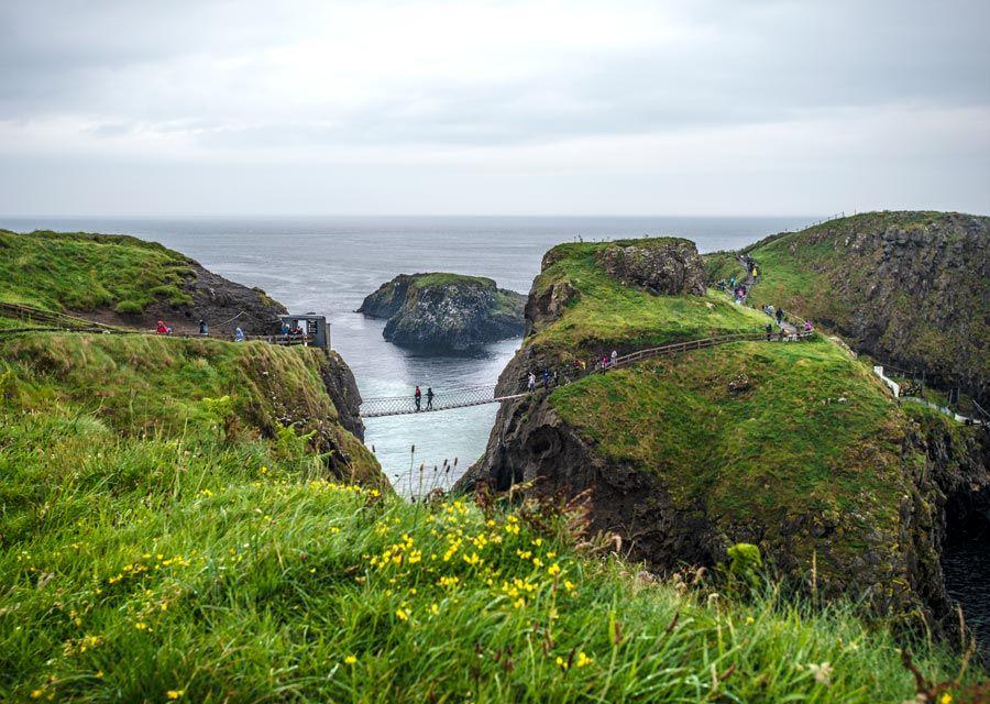 puente colgante irlanda, visitas irlanda norte