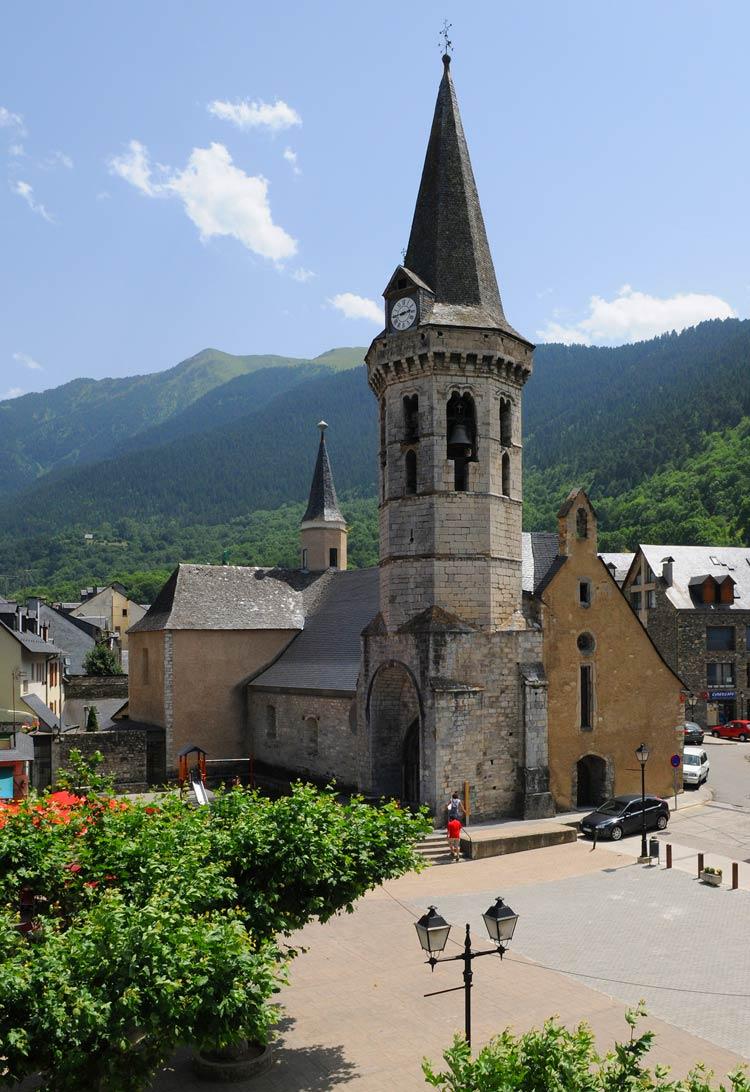 San Miguel de Vielha, valle de aran