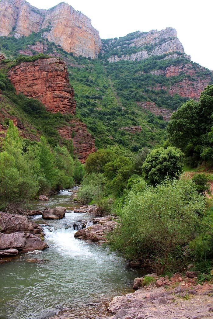 canon rio meza, ruta rioja oriental