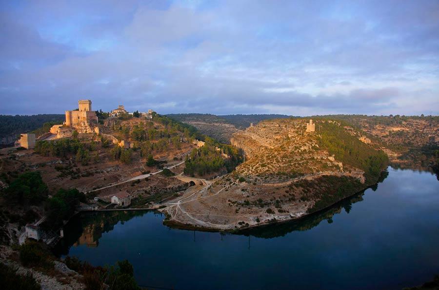 rio jucar, Alarcon, ruta vino manchuela