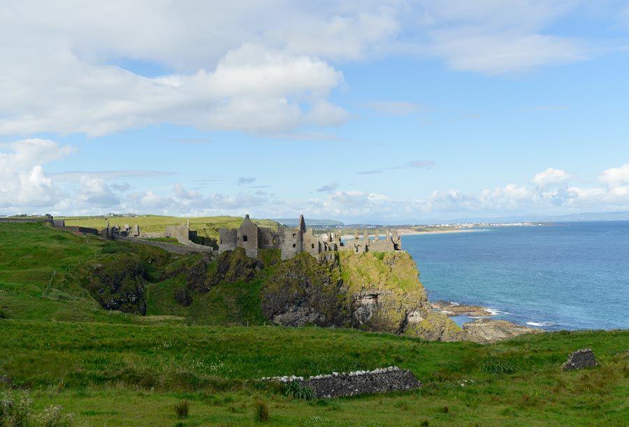 castillo Dunluce, viaje irlanda