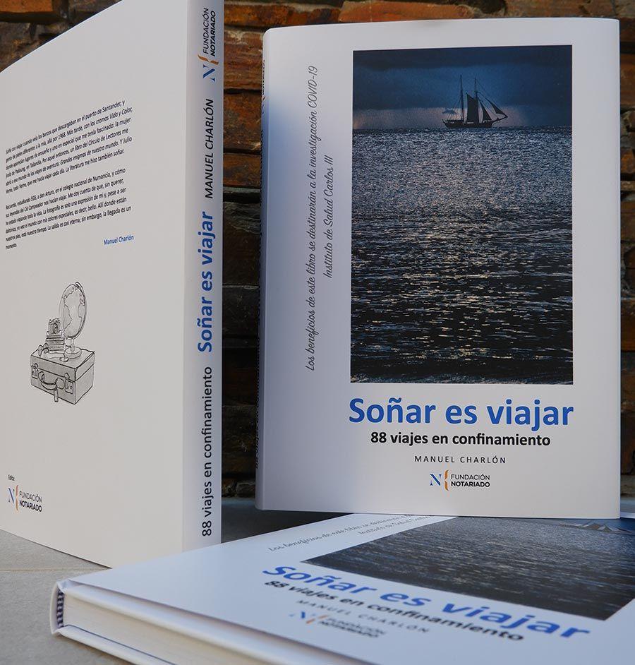 libros solidarios, libros covid 19, Sonar es viajar, 88 viajes en confinamiento