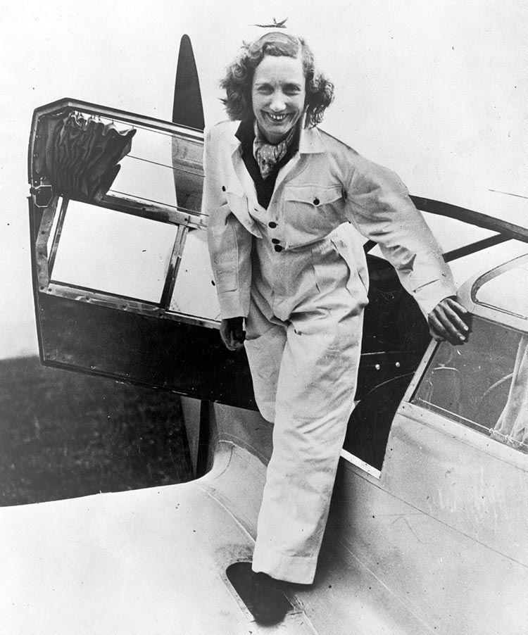 Beryl Markham cruzo el atlantico sola