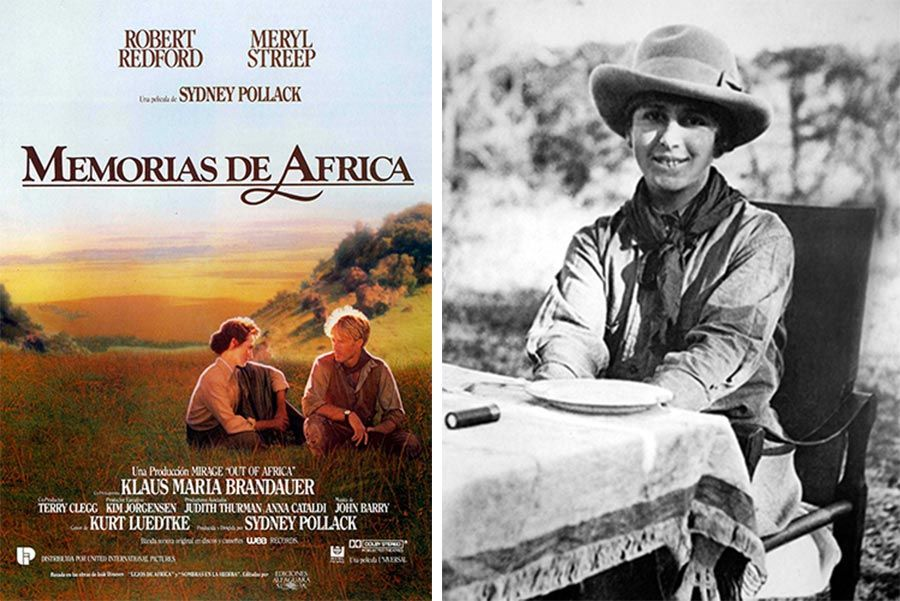 baronesa blixen en memorias de africa