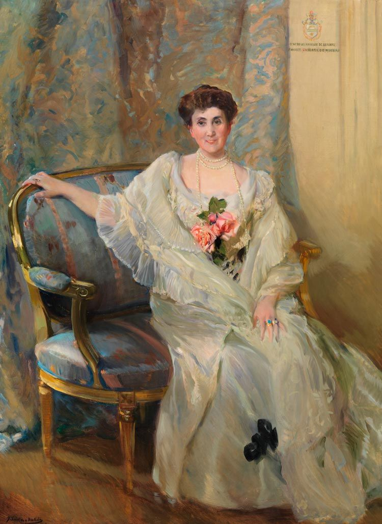 maria de Los Angeles de beruete y moret pintado por sorolla