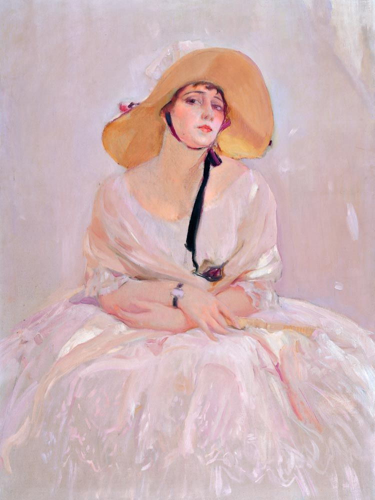 retrato de Raquel meller en museo sorolla