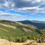 mirador de la Hiruela en la sierra del rincon