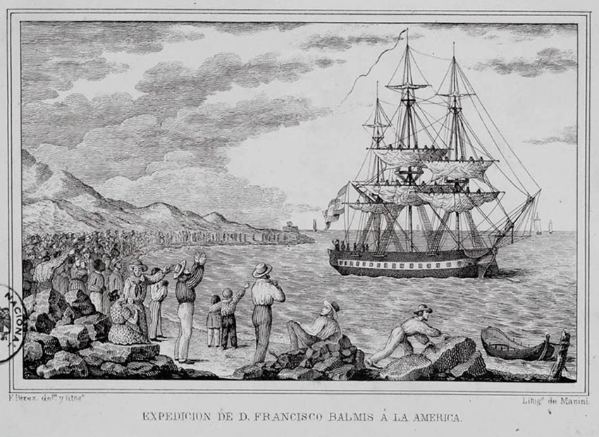 maria pita, barco expedicion balmis
