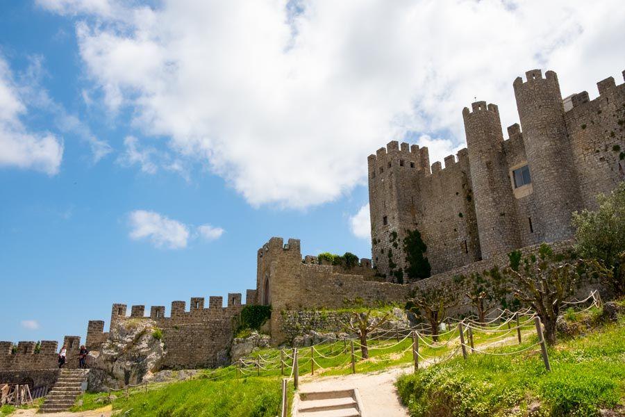 Castillo de obidos en portugal