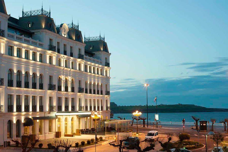 gran hotel sardinero lujo santander
