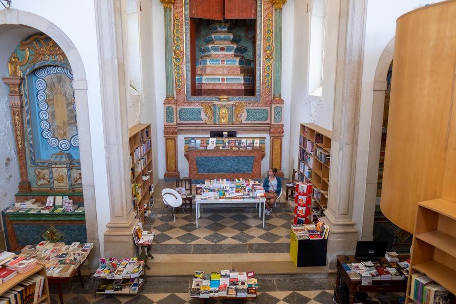 libreria iglesia De Santiago obidos