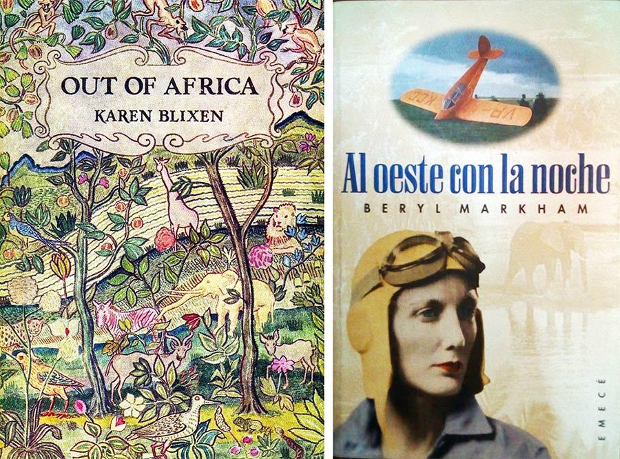 libros memorias de africa karen blixen y bery markham