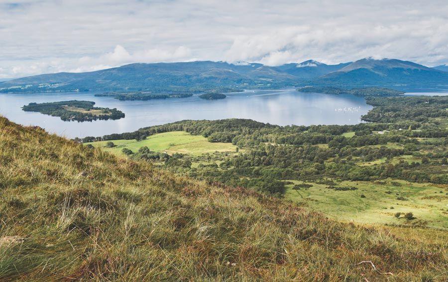 Loch Lomond una visita basica en las highlands