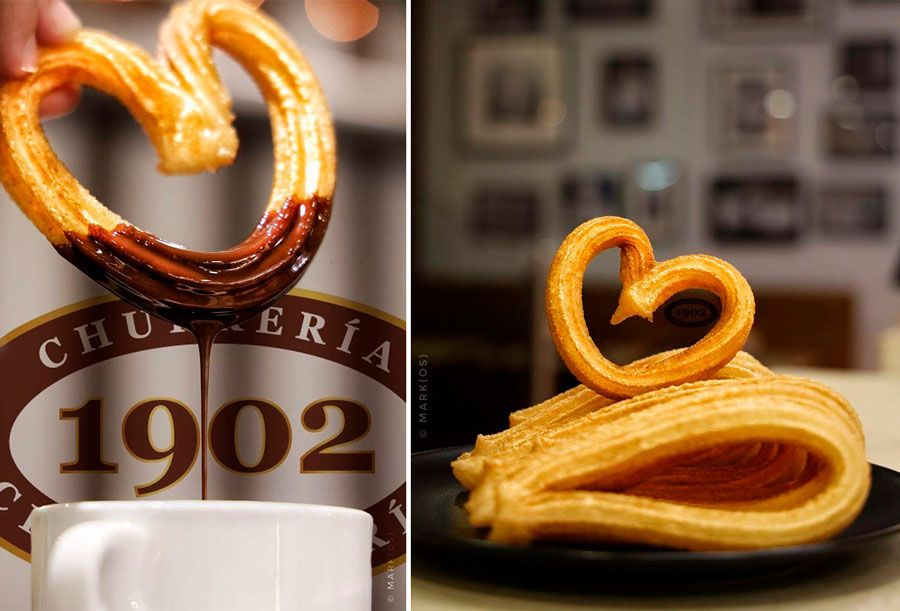chocolate con churros en Madrid