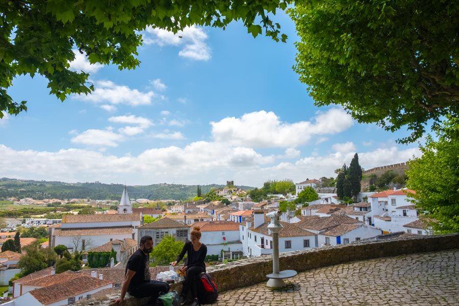 mirador de obidos en portugal