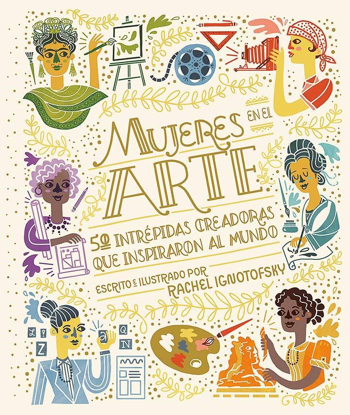 libro ilustrado mujeres en el arte