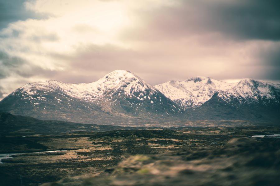 Rannoch Moor en escocia