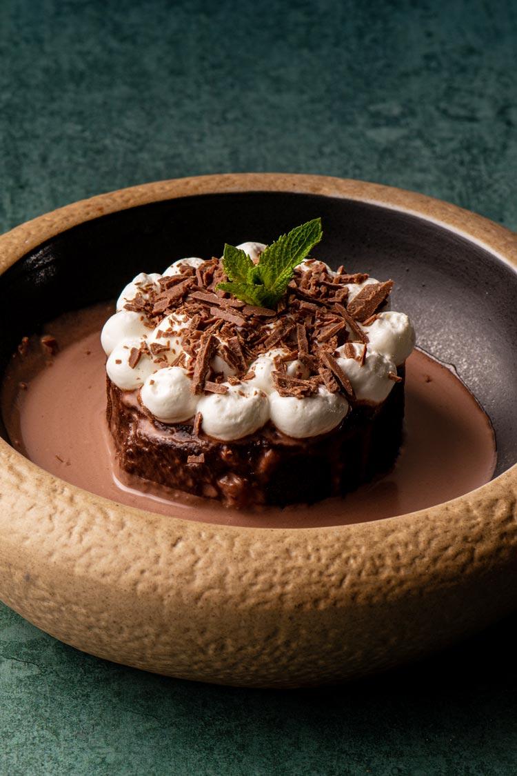 pastel chocolate postre de Santita