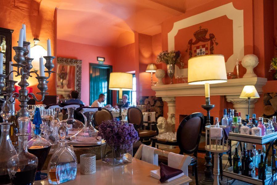 restaurante a casa nova de Ramiro en obidos