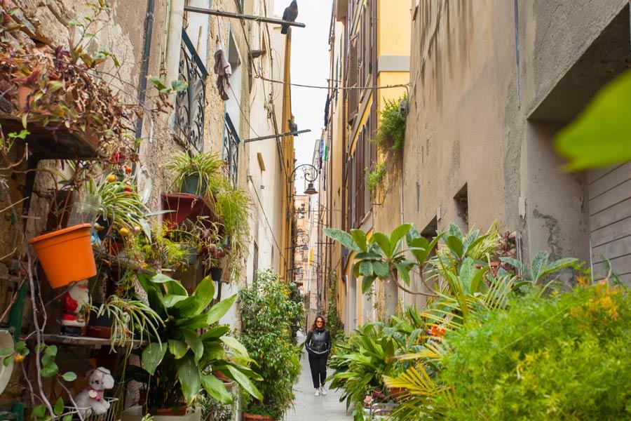 calles bonita de cagliari