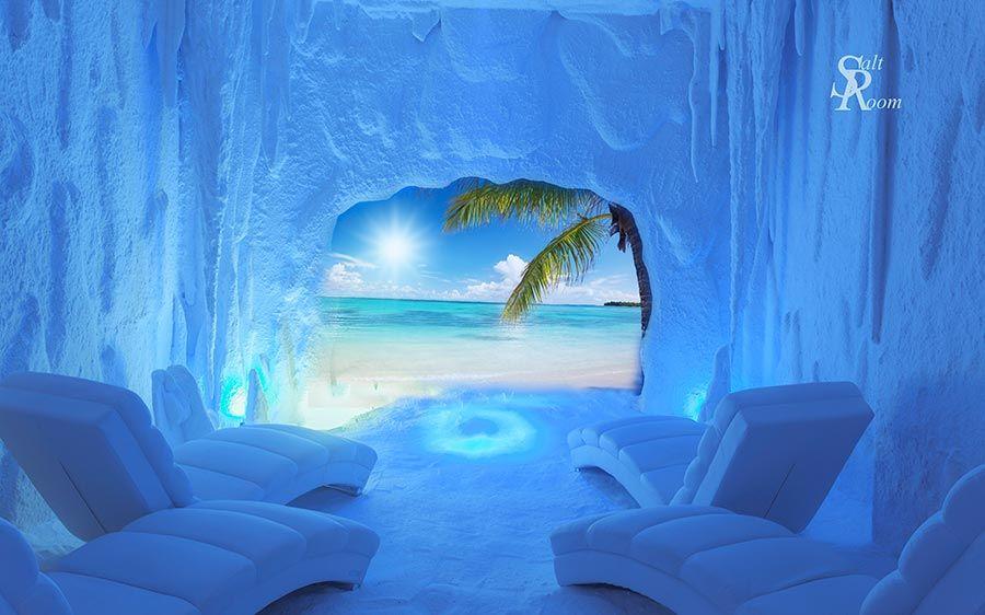 cuevas de sal en salt room