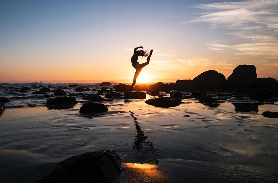 danza al amanecer terapia saludable