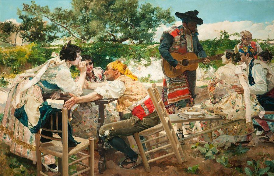 Fiesta Valenciana de Joaquin Sorolla en feria de arte tefaf