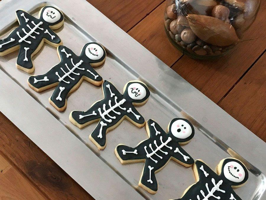 Moldes de galletas para Halloween.