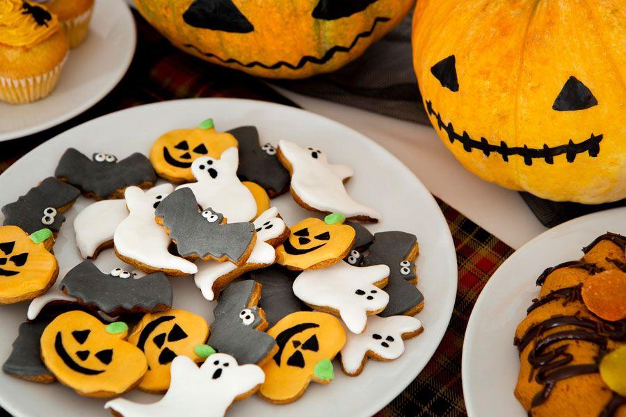 Recetas de galletas para Halloween.
