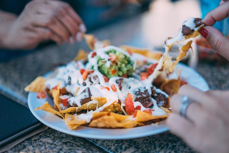plato de nachos