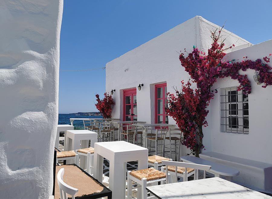 Naoussa es la niña bonita de Paros, en las islas griegas