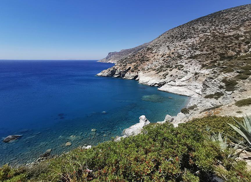 playa de mouros en amorgos islas griegas