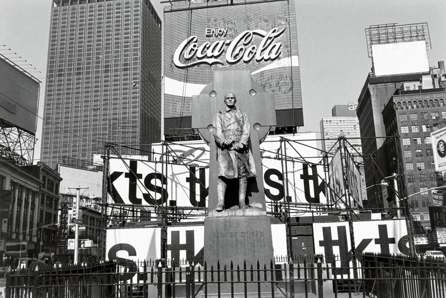 padre Duffy de Lee Friedlander