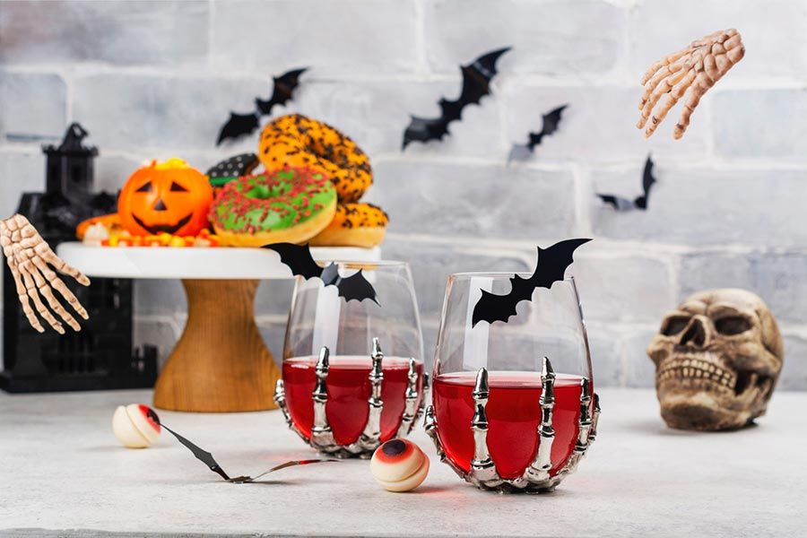 decoracion casa halloween