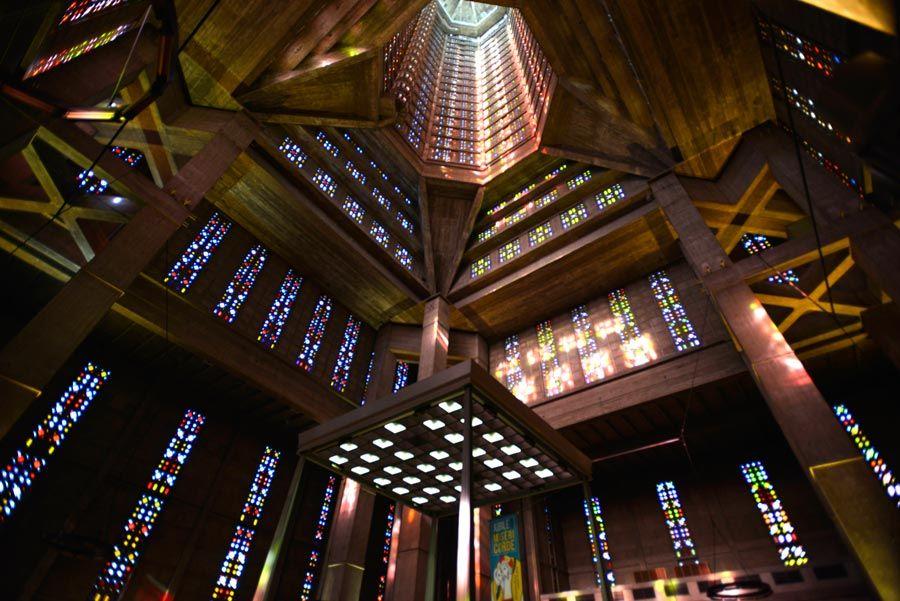 vidrieras de la iglesia de saint joseph en le havre